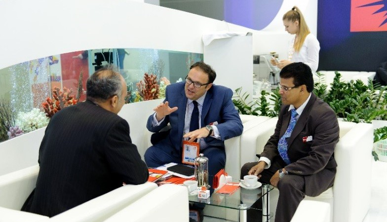 Penzkofer im Gespräch auf dem WPC 2014 in Moskau
